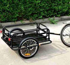 Remolque Para Bicicleta Cargo Trailer Utility - $ 2,850.00