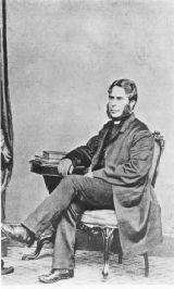 Reverend Arthur Bell Nicholls (1819-1906), husband of Charlotte Bronte