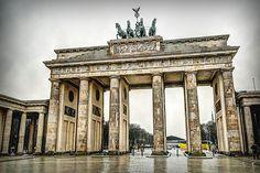 Brandenburg Gate by Stefano Marasà, via 500px (Berlin, Germany)