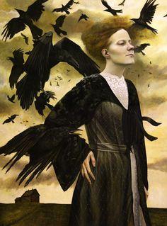 Andrea Kowch paintings www.niezlasztuka.net
