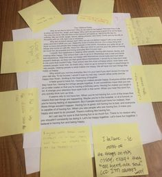 This assignment builds bonds between students and prompts them to be more intentional with the language they use, both in word choice and rhetorical strategies. Writing Lessons, Teaching Writing, Essay Writing, Math Lessons, Teaching English, Writing Process, Teaching Themes, Leadership Lessons, Teaching History