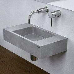 Gravelli SLANT 06 mini Concrete washbasin 16.300 Kč= 605,21