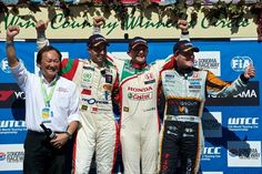 Honda Win the 2013 World Touring Car Championships Manufacturer Title Touring, Honda, Champion, Awards, Coat, Sewing Coat, Peacoats, Coats, Jacket