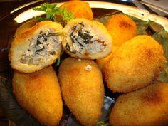 Receita de Coxinhas de Frango .:. Kitchenet .:. Livro de culinária do aeiou