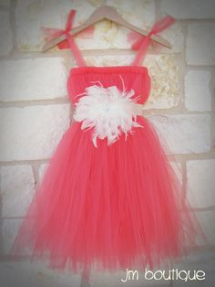tutu dress with feathers