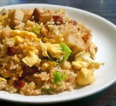 Basic Egg Fried Rice Recipe with Additional Ideas - Food, Fun, and Happiness