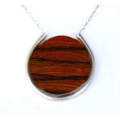 """2"""" 2sides circle necklace"""