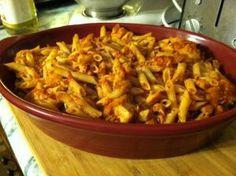 Chicken Parm Pasta Bake