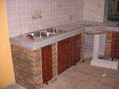 Dirty Kitchen Design, Industrial Kitchen Design, Kitchen Room Design, Rustic Kitchen, Interior Design Kitchen, Kitchen Decor, Diy Kitchen, Aluminum Kitchen Cabinets, Aluminium Kitchen