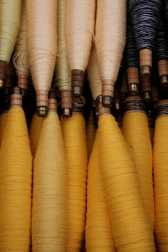 Beautiful ombre spools of #thread
