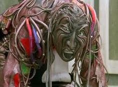 Okay, so these Wheelers from Return to Oz used to give me serious nightmares... they are pretty freaky