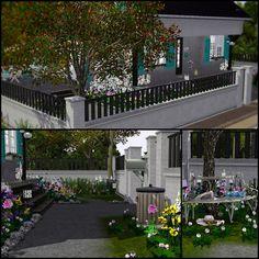 Romance Ave. / Simberry / Sims 3 / Downloads / Garden