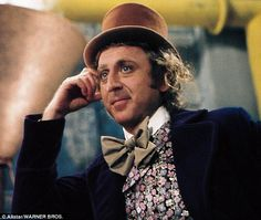 Actor Gene Wilder has died at the age of 83, from complications due to Alzheimer's disease. He is pictured above in the film Willy Wonka and the Chocolate Factory.