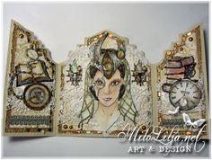 "Created by MiloLilja - Sweden • Instagram: milolilja • Pinterest: milolilja • Facebook: ""Milo Lilja - Art & Design"" • #scrapbooking #crafting #art #milolilja #cardmaking #paperart #shabbychic #artist #vintage #handmade #steampunk #thirdcoastrubberstamps"