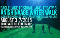 Anishinaabe Water Walk To United Treaty 3 Against Pipeline   PopularResistance.Org