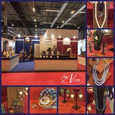 Un año más, estamos en Madrid en #Bisutex y #MadridJoya para mostraros todas las novedades en joyería y bisutería de nuestras marcas. Estamos en el 4F04 ¡¡Te esperamos!! #swalem #vintagebijoux #azcollection #bellagioia #madrid #feria #ifema #novedades #fashion #madridmolaylosabes #joyas #shinny Ale, Madrid, Broadway Shows, Crown, Jewelry, Branding, Jewels, Corona, Jewlery