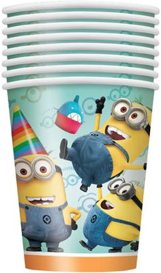 Despicable Me 2 9oz Cups 8pk