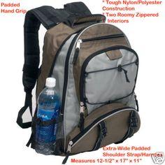 Maxam® Backpack POLYESTER BACKPACK New Daypack