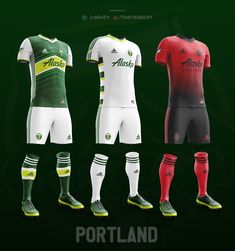 The MLS season is coming up so I decided to redesign every team's kit. I took inspiration from teams history, past kits, and their current kits. I only did designs that I could see Adidas doing, so there were some ideas I scrapped because they looked more… Mls Soccer, Soccer Kits, Football Kits, Football Jerseys, Rainbows Uniform, Adidas Kit, Best Jersey, Football Shirt Designs, Sublime Shirt