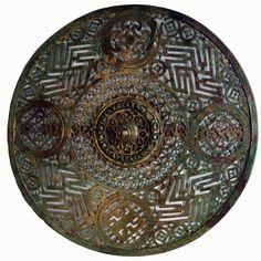 Disque de harnais;  les gaulois connaissaient les mathématiques e l'astronomie.