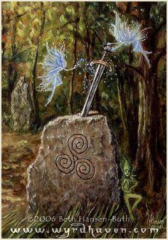 8/18/15  3:46p  Sword in the Stone  Blue Nymphs smolin.deviantart.com
