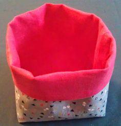 Heartmade by Emilie: DIY : Petits paniers en tissu (Tuto)