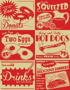 Retro Kitchen Advertising (no.