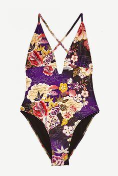 Maillot de bain une pièce Zara / One-piece swimwear Zara