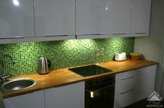 mozaika zielona