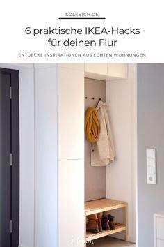 restoration hardware diy hacks 6 praktische IKEA-H - Ikea Hacks, Diy Hacks, Diy Home Crafts, Diy Garden Decor, Diy Organization, Restoration Hardware, Interior Inspiration, Tall Cabinet Storage, Furniture