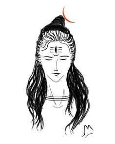 Here's a Shiva line art done by me. Hope you enjoy and feel free to follow me on Instagram :) #shiva #mahadev #hindu #god #lineart #sketch #digitalart #digitalpainting #digitaldrawing #meditation #bliss #peace #india #religion