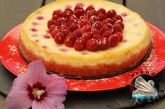 Cheesecake framboises aux biscuits roses de Reims http://www.aprendresansfaim.com/2016/09/cheesecake-framboises-aux-biscuits.html