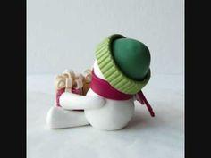▶ Let's Build a Snowman! (Li'l Decor ornament) - YouTube