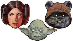 Star Wars Maske ausdrucken, noch mehr Auswahl auf der Seite
