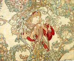 Mucha - Woman with a Daisy
