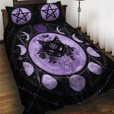Goth Bedroom, Room Ideas Bedroom, Bedroom Decor, Gothic Room, Gothic House, Goth Home Decor, Gypsy Decor, Appartement Design, Aesthetic Room Decor