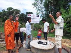 Heather and Philip Coleman - Water Well Donation Cambodia