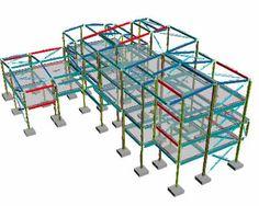 Structural Engineering Rendering