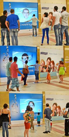 Interactive Window cross Media  #InteractiveVitrine #InteractiveSurfaces #Flash
