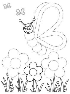 Spring Coloring Pages: Spring coloring sheets can actually help your kid learn more about the spring season. Here are top 25 spring coloring pages free printables Toddler Coloring Book, Coloring Sheets For Kids, Coloring Books, Kids Coloring, Color Activities For Toddlers, Toddler Activities, Spring Activities, Preschool Writing, Preschool Worksheets