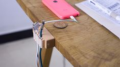 One Handsome Cable Keeper | Yanko Design