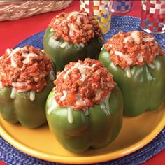 You will want to repin this awesome recipe for Hearty Stuffed Peppers!