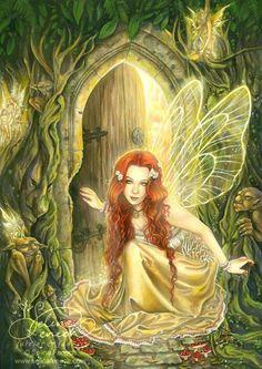 fairy art by selene fenech