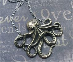 A personal favorite from my Etsy shop https://www.etsy.com/listing/250751496/octopus-necklace-brass-octopus-jewelry