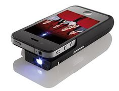 iPhone Pocket Projector!