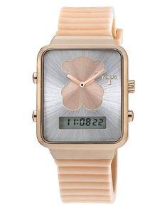 Reloj Tous digital I-Bear rosado #relojes #tous