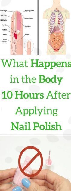 What Happens to Your Body 10 Hours After You Apply Nail Polish - Healthy Staff Hair Loss Cure, Oil For Hair Loss, Health And Fitness Articles, Health Advice, Women's Health, Brittle Nails, Nail Polish, Hair Loss Shampoo, Natural Health Tips