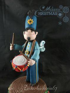 little Drummerboy - by DieZuckerbäckerin67 @ CakesDecor.com - cake decorating website