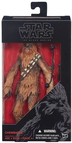 Star Wars: Episode VII The Force Awakens The Black Series 6-in. Chewbacca Figure by Hasbro