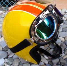 Helmet with goggles: Is this too much for a bike ride?